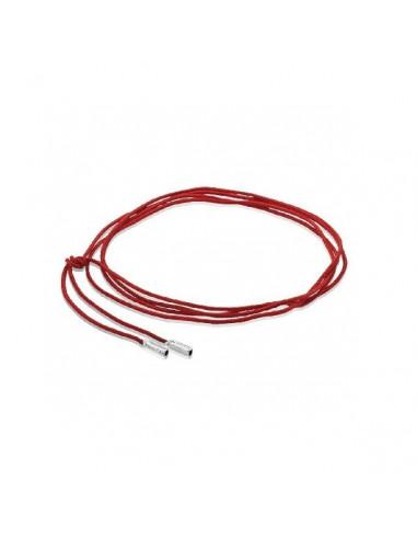 Cordón Algodón Rojo