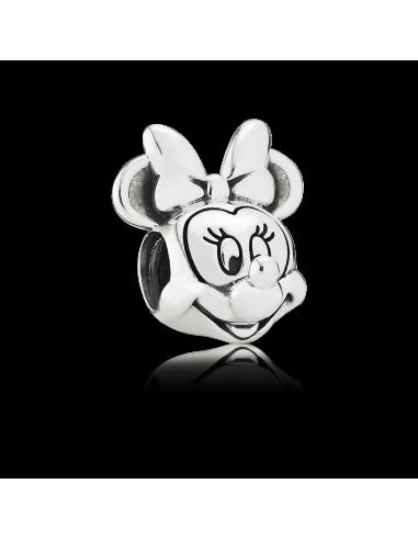 Charm en plata de ley Retrato Minnie