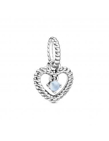 Charm Colgante Corazón de Esferas...