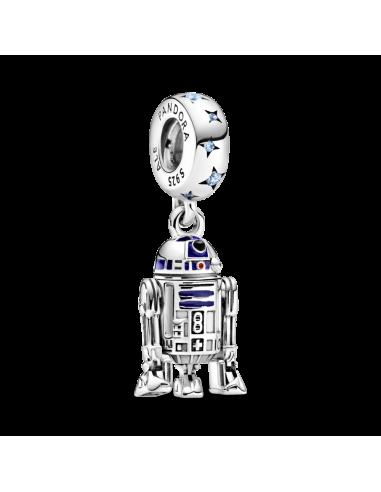 Charm colgante en plata de ley R2-D2...
