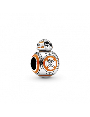Charm  en plata de ley BB-8 de Star Wars