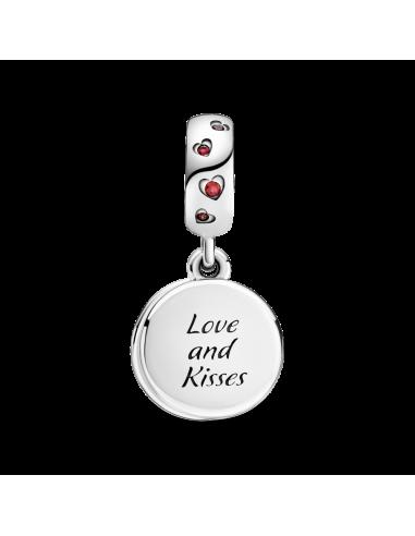 Charm Colgante en plata de ley Amor y...